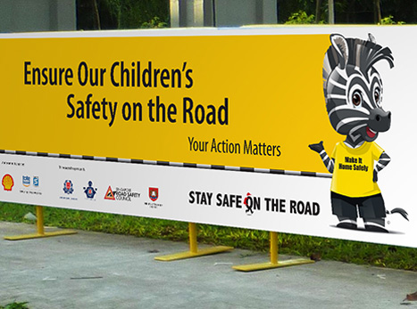 Singapore Road Safety Campaign